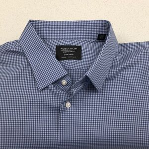 New w/Tags Nordstrom Non Iron Dress Shirt 17.5
